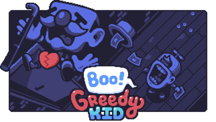 Boo! Greedy Kid Release Date Announcement 1
