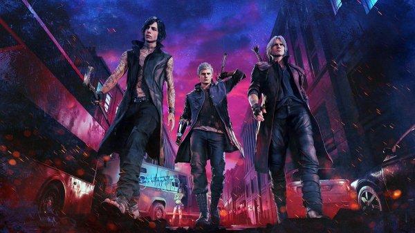Devil May Cry 5 Dante TGS 1