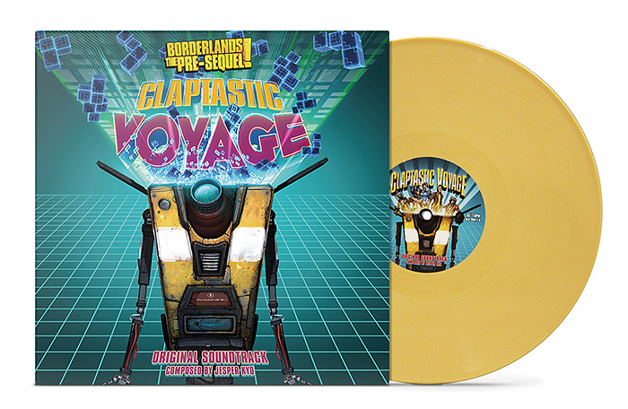 Into The Spine of: Claptastic Voyage's Soundtrack Vinyl 2
